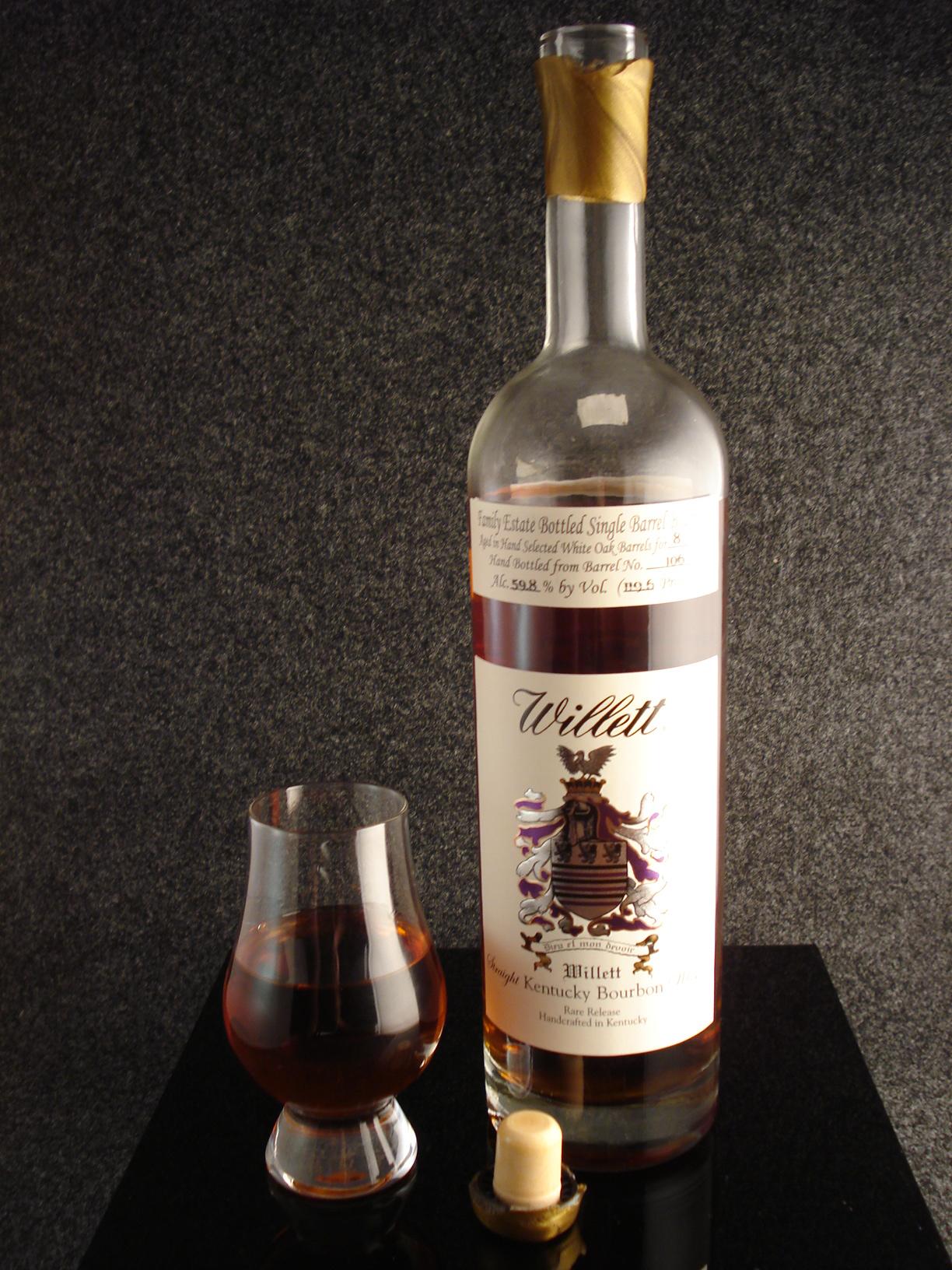 Willett Family Estate 8 Year Bourbon Barrel 106 Bourbon