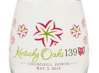 Official 2014 kentucky Oaks Glass Photo Courtesy of www.kentuckyderby.com