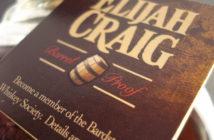 Elijah Craig Barrel Proof Neck Tag