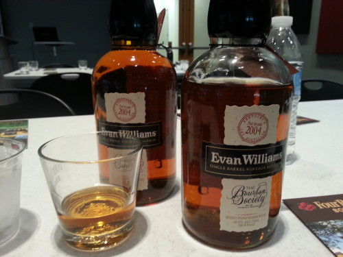 Evan Williams 2004 Vintage Single Barrel
