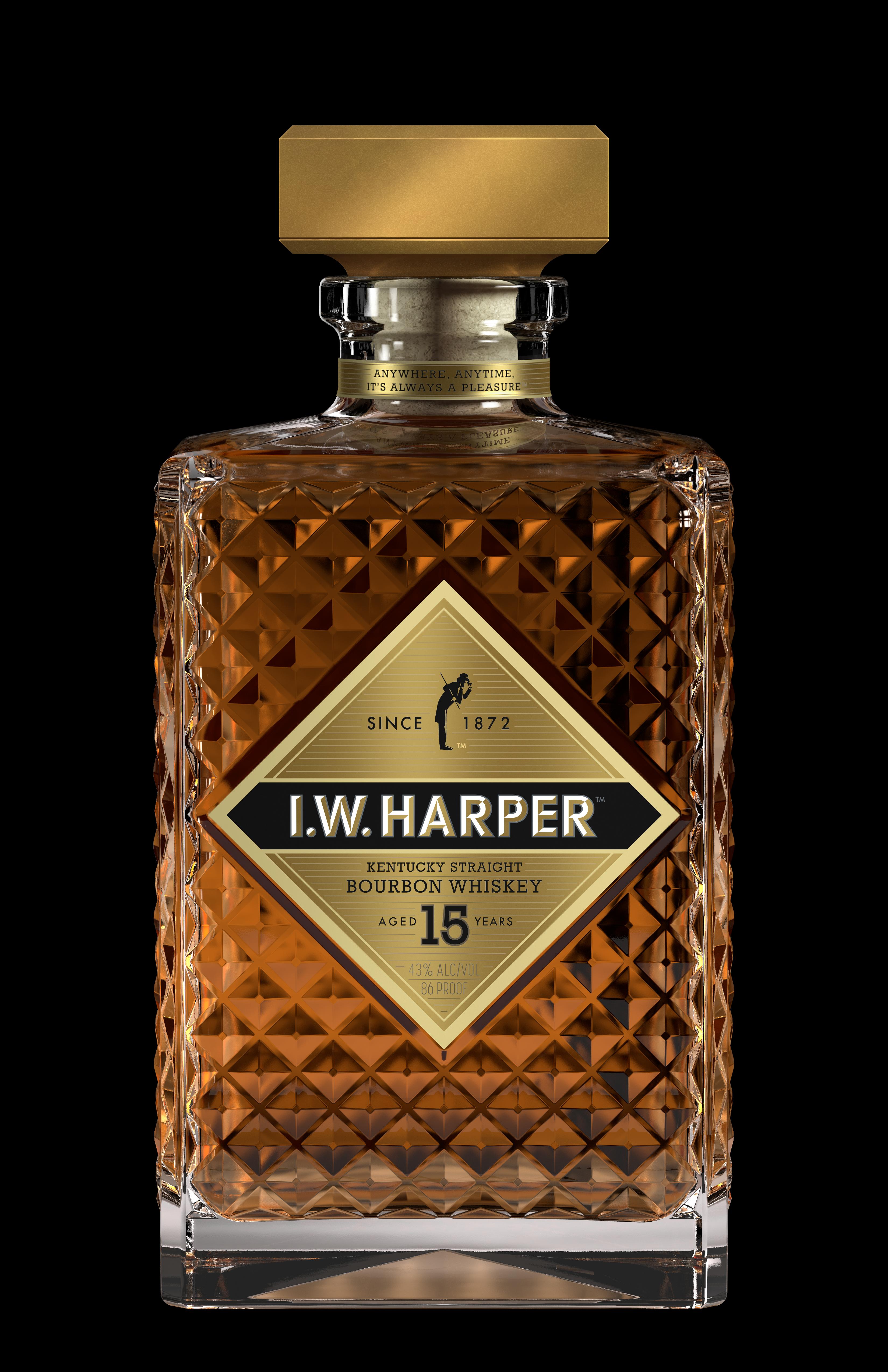 07990a551b3 I.W. Harper 15 Year Old Kentucky Straight Bourbon Whiskey. Photo courtesy  Taylor Strategies I.W.Harper