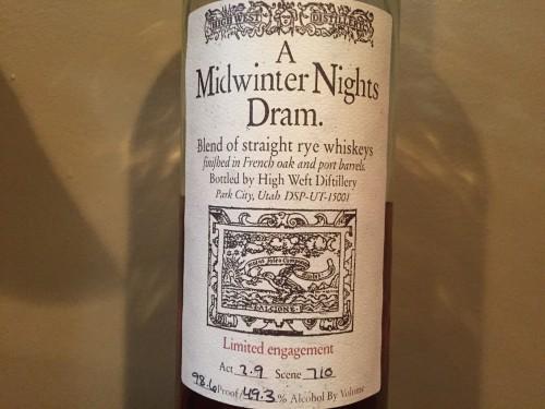 Midwinter Nights Dram 3