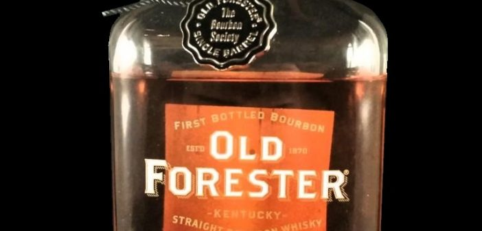 Review:  Old Forester Single Barrel – 'The Bourbon Society' Private Selection