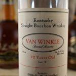 Weller 12 Old Fitz 12 Van Winkle
