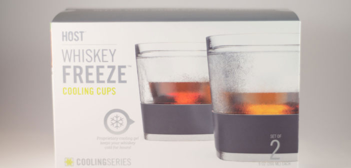 Product Review:  Whiskey Freeze Cooling Cups