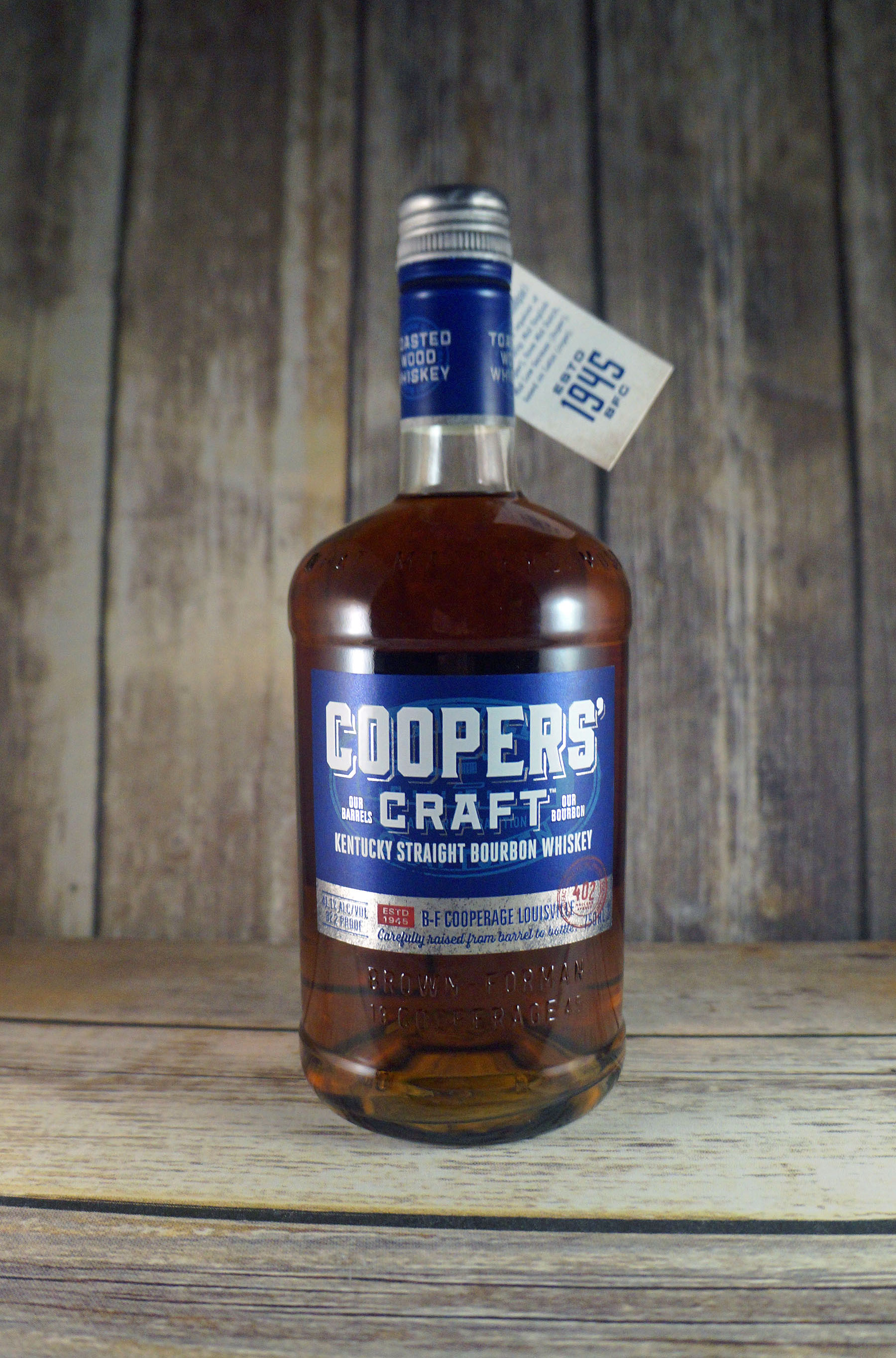 Coopers 39 craft bourbon review modernthirst for Coopers craft bourbon review