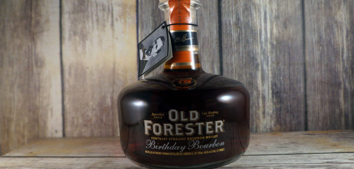 Old Forester Birthday Bourbon (2016) Review
