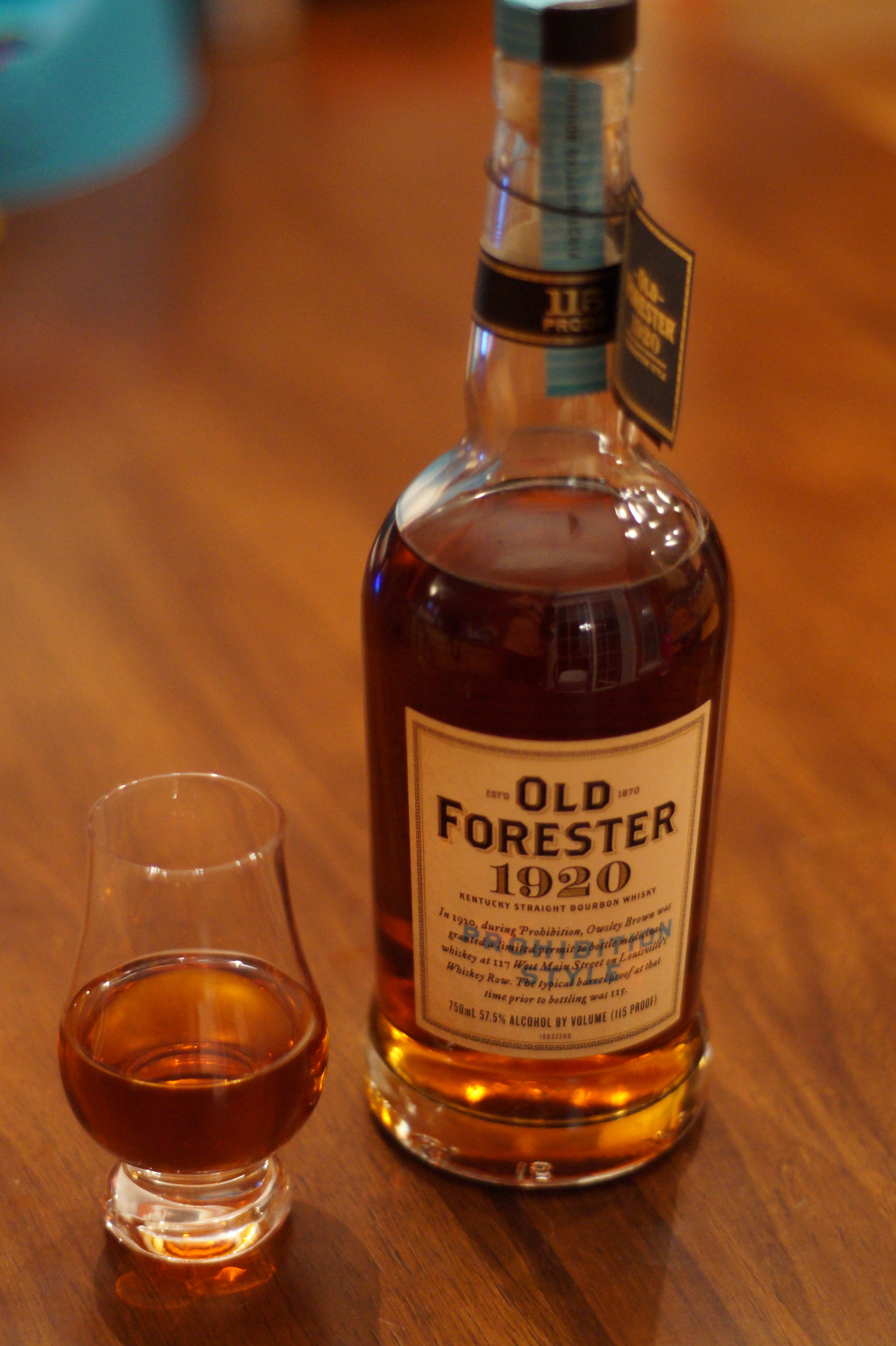Old Forester 1920 Prohibition Style Bourbon Review