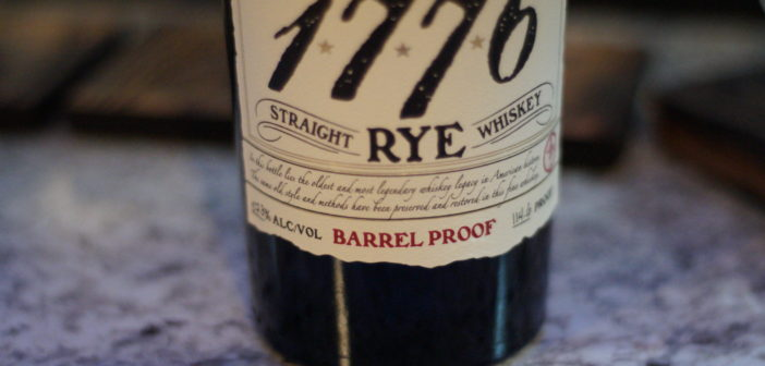 James E. Pepper 1776 Barrel Proof Rye Whiskey Review