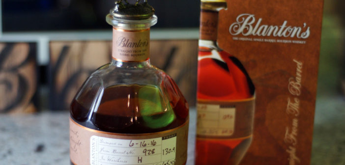 Blanton's Straight from the Barrel #928 Review