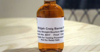 Elijah Craig Barrel Proof – May 2017 Batch B517 124.2° Review