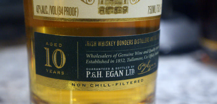 Egan's Irish Whiskey 10 Year Single Malt Review