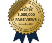 3,000,000 Page Views