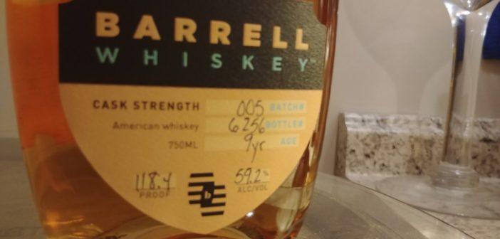 Barrell Whiskey Batch 005