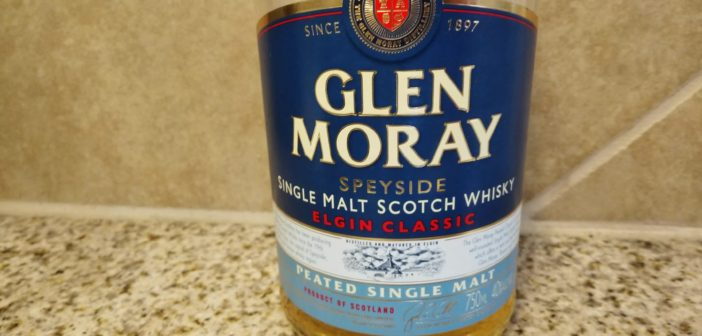 Review:  Glen Moray Peated Single Malt Scotch Whisky
