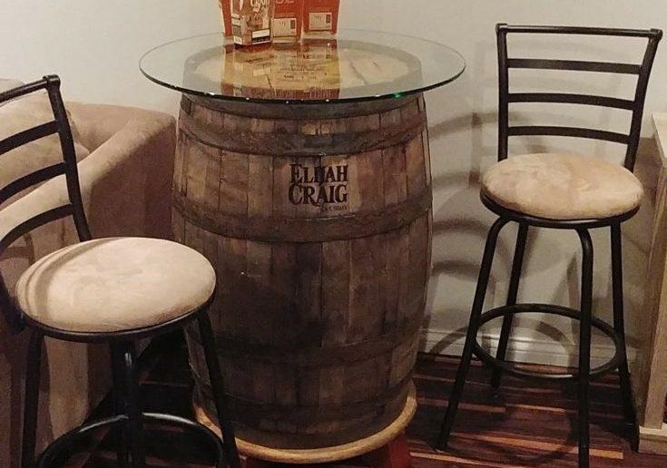 Bourbon Barrel Pub Table #2