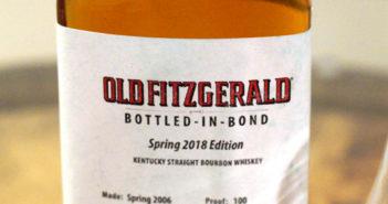 Old Fitzgerald Bottled in Bond Limited Edition Spring 2018