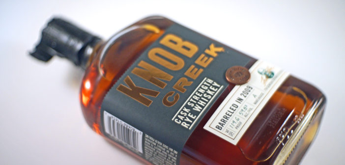 Knob Creek Cask Strength Rye Whiskey Video Review