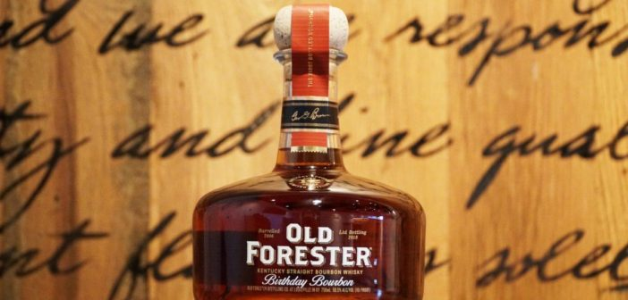 Old Forester Birthday Bourbon 2018 Review