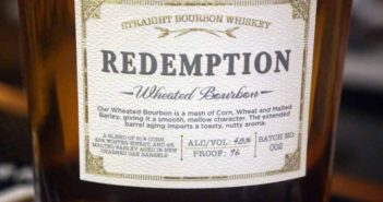 Redemption Wheated Bourbon Video Review