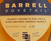 Barrell Whiskey Dovetail Review