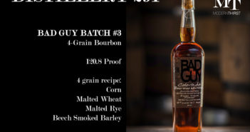 Distillery 291 Bad Guy Batch #3 Bourbon Video Review