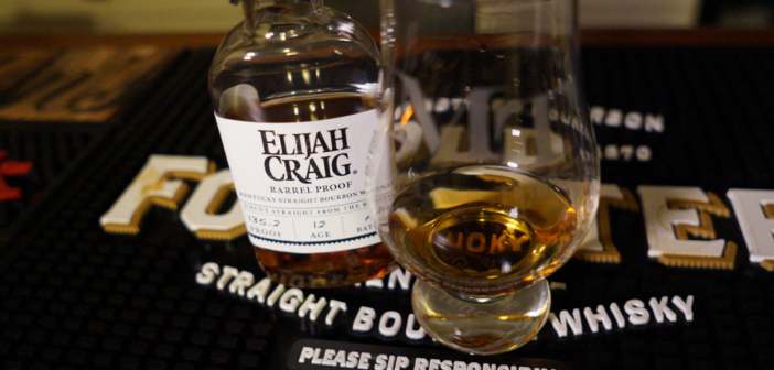 Elijah Craig Barrel Proof Batch A119 Video Review