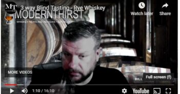 VIDEO: 3-Way Rye Whiskey Blind Tasting