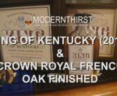 Video: King of Kentucky (2019) and Crown Royal French Oak Finished Tasting
